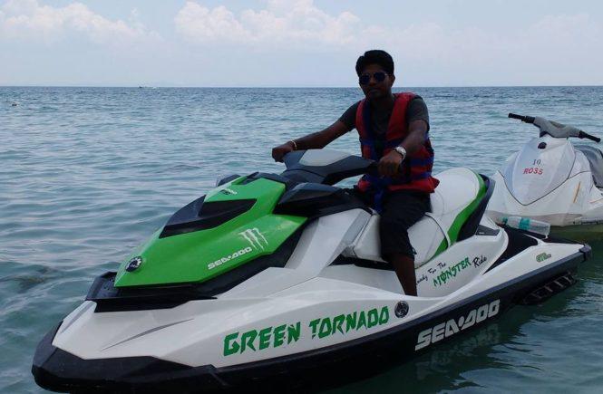 Jet Ski Ride in Andaman